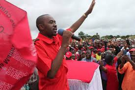 Chamisa rally images